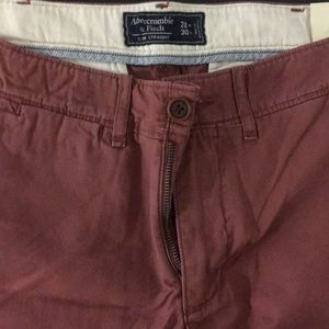 Abercrombie & Fitch Slim Straight Chinos